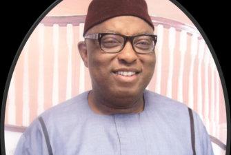 man wearing eyeglass