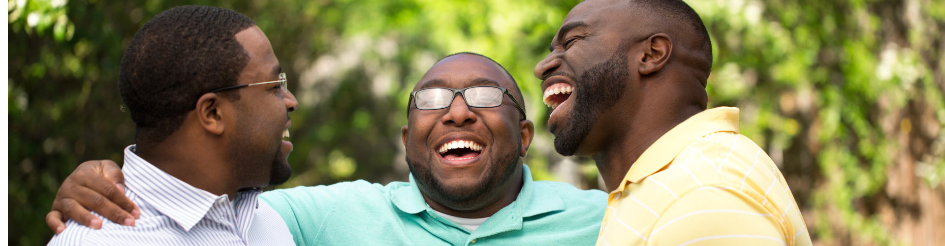 brothers laughing and having fun